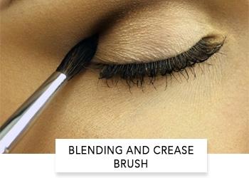 blending and crease brush